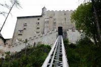 Burg Hohenwerfen - Der Lift