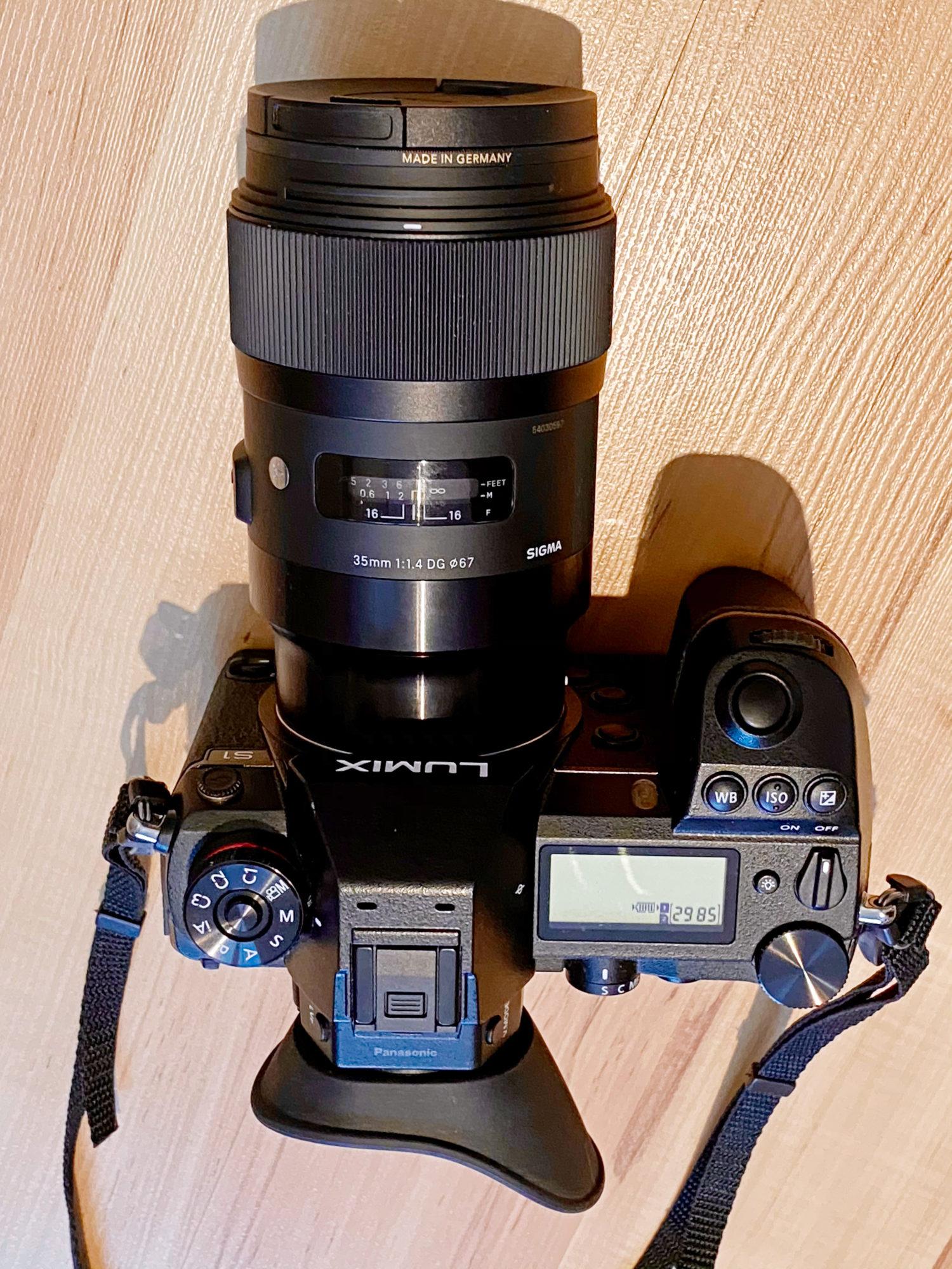 Panasonic Lumix S1 mit Sigma 35mm F1,4 DG HSM